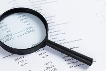 financial statement review or audit