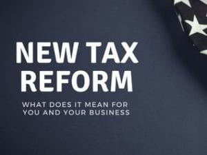 How Tax Reform May Affect Your Facility